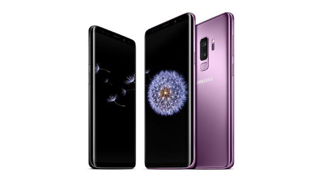 Samsung Galaxy S9 Galaxy S9 Plus Android Pie One UI Galaxy Note 9