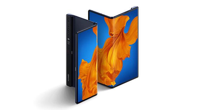 Huawei Mate Xs katlanabilir telefon
