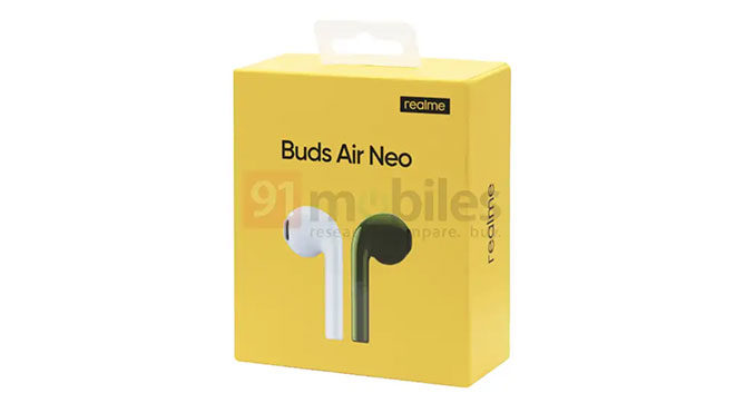 Realme Buds Air Neo kablosuz kulaklık ortaya çıktı