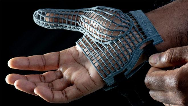 Jaguar Land Rover - 3D baskı çalışma eldiveni