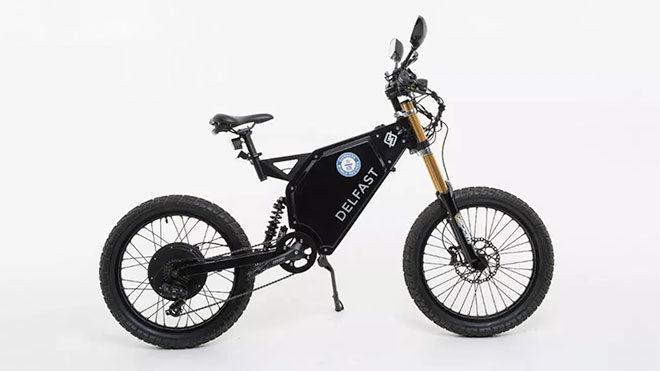 320 km menzil, 80 km/s hız sunan elektrikli bisiklet: Delfast Top 3.0