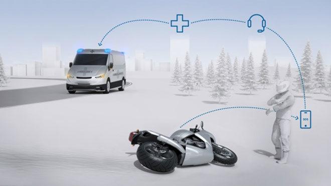 Bosch Help Connect motosiklet