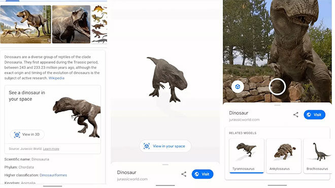 Google dinozor