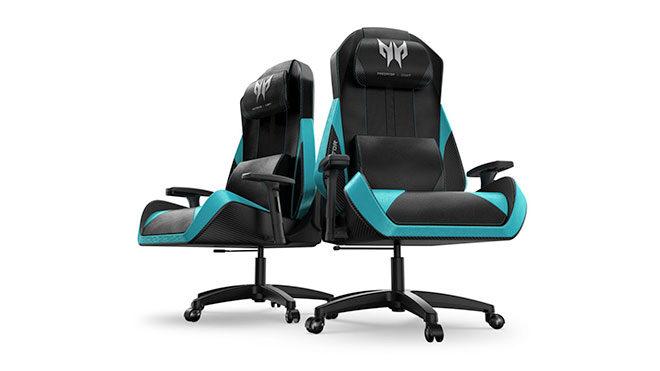 Acer Predator Gaming Chair oyuncu koltuğu çok güzel görünüyor