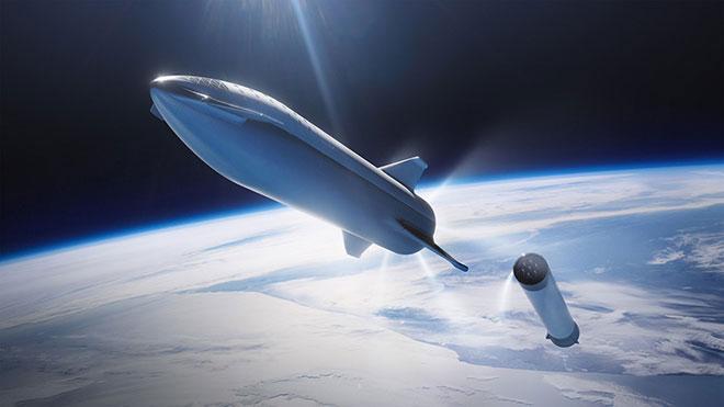 Elon Musk SpaceX Starship