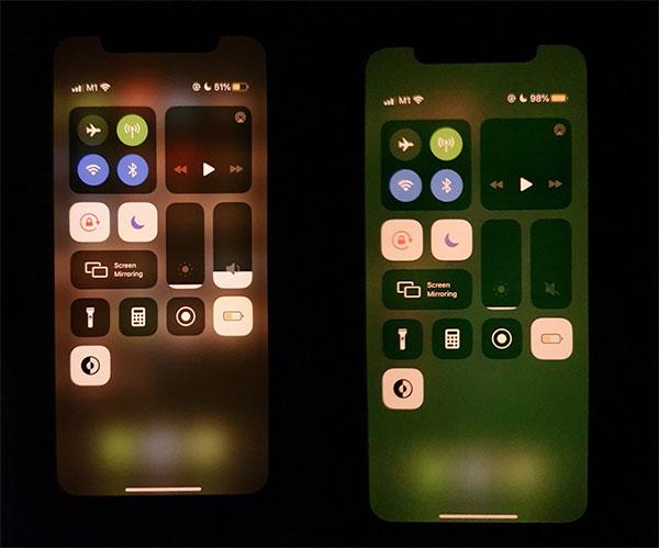 iPhone 11 yeşil ekran sorunu