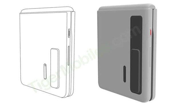 Huawei imzalı Samsung Galaxy Z Flip rakibi ortaya çıktı