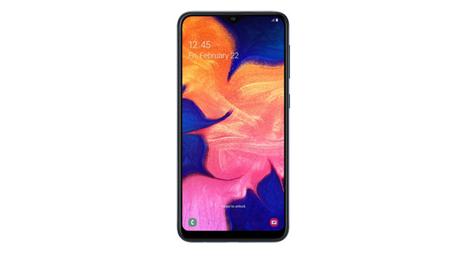 Samsung Galaxy A10 Android 10